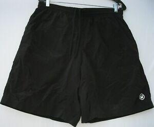 Canari men's padded 2 pocket elastic waist w/ draw string cycling shorts large