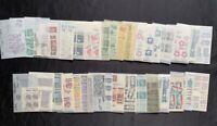 Huge Lot 1,300+ Vintage US MINT Stamps 1960s 1970s Glassine Collection 5c 6c 8c