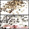50pcs Hotfix Iron on or Glue on Rhinestones Diamante Gems Bead Arts & Crafts UK