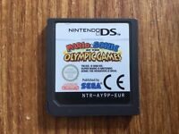 Mario & Sonic At The Olympic Games Nintendo DS Game, Cartridge Only! GENUINE!