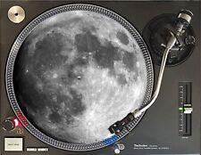 More details for moon image turntable felt dj slipmat 12