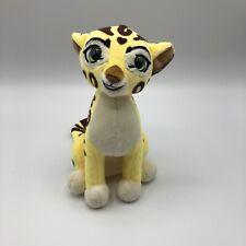 "Disney Ty Sparkle Fuli Lion Guard 7"" Stuffed Animal 2017 Green Glitter Eyes"