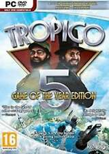 Tropico 5 Game of the Year Edition - PC DVD - New & Sealed