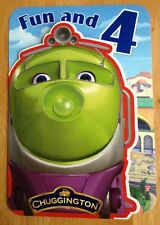 """'4th Birthday' Chuggington Childrens Birthday Card - Trains - Age 4 -6.75""""x4.75"""""""