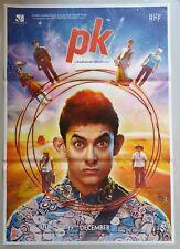 NEW BOLLYWOOD MOVIE POSTER - PK / AAMIR KHAN 27X37 INCH 2014 #2