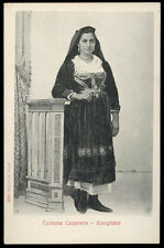 cartolina GIMIGLIANO costume calabrese