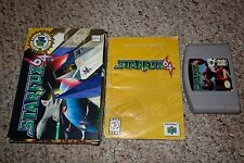 Star Fox 64 (Nintendo 64, 1997) Complete in Small Box GOOD A B Starfox PC