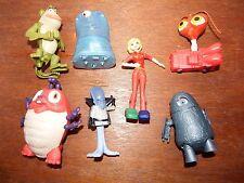RARE Bundle Monsters Aliens Figura Giocattolo Vs Playset Susan Cockroach Bob Gallaxhar