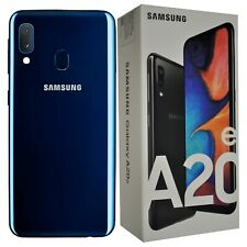 New Samsung Galaxy A20e SM-A202F/DS 32GB Dual-SIM Blue Factory Unlocked SIMFree