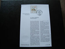 FRANCE - document 1er jour 14/9/1991 (tortue terrestre) (cy52) french