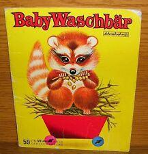 Bilderbuch Carlsen Wunder 59 Baby Waschbär