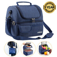 Insulated Lunch Box for Women Men Thermal Cooler Tote Food Lunch Storage Bag