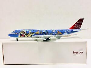 HERPA 1:500 JAL Dream Express BOEING 747-300 JA8083 ***** RARE SAMPLE *****