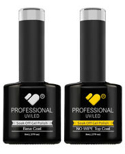 Top y capa base (sin limpiar) vb línea UV/LED Gel Soak Off Nail Polish -! oferta!