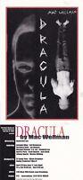 DRACULA BY MAC WELLMAN UNUSED ADVERTISING COLOUR POSTCARD