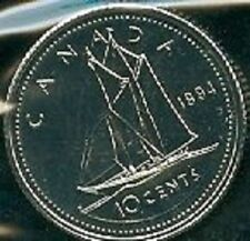1994-PL Proof-Like Dime 10 Ten Cent '94 Canada/Canadian BU Coin Un-Circulated