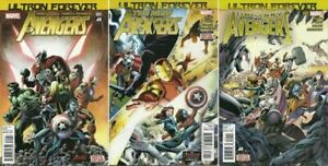 Ultron Forever: Avengers, New Avengers & Uncanny Avengers: Marvel (2015) VF/NM.