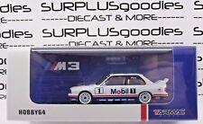Tarmac Works 1:64 2017 Hobby64 BMW M3 E30 Winner Macau 1992 Mobil 1 Deco Livery