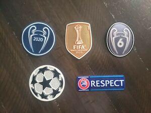 Bayern Munich Champions League jersey patch set 2020/21   badge,  LOOK!!!!
