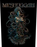 OFFICIAL LICENSED - MESHUGGAH - VIOLENT SLEEP OF REASON BACK PATCH METAL