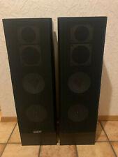 Qudral All-Craft AC 410 Hifi Lautsprecher Stereoanlage Paar SEHR GUT