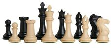 Fischer Series Plastic Chess Pieces, King - 4 inches.
