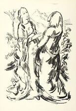 KARL CASPAR - HEIMSUCHUNG - Lithografie 1920