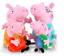 4 piece Peppa Pig plush set *UK SELLER WITH STOCK*