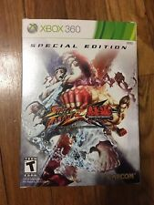 Street Fighter X Tekken: Special Edition (Microsoft Xbox 360, 2012) Complete