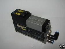 ASSEMBLY OF 2 NORGREN SOLENOID VALVES & CONNECTOR BLOCK