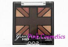 RIMMEL Glam Eyes Quad EYESHADOW Eye Shadow in 002 English Oak