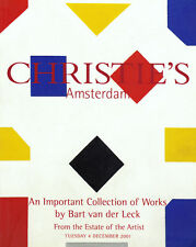 Christie's BART VAN DER LECK Estate 2001 De Stijl Modernist Avantgarde Painting