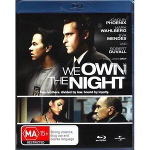 WE OWN THE NIGHT - BRAND NEW & SEALED BLU-RAY (JOAQUIN PHOENIX, MARK WAHLBERG)