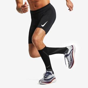 Nike Aeroswift 1/2 Length Running Tights Black Half Medium