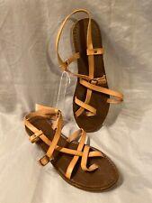 New Women's Universal Thread Lavinia Toe Wrap Brown Sandals Size 11