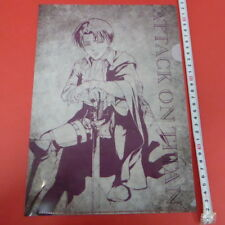 Attack on Titan Levi Clear File Japan Anime 7-Eleven Limited/g727