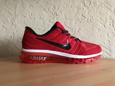 NEW Nike Air Max 2017 Red White Men s Running Shoes US 11 c47ab156f