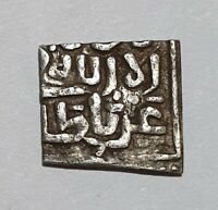 NAZARI NASRIDS GRANADA ALHAMBRA GHARNATA 1/2 dirham moneda de plata 0.48g RARA