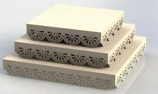 Kit Trays For Cutting in CNC Router And Laser Wood MDF DXF Files ArtCAM Aspire