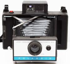 Polaroid 210 Instant Film Folding Camera AAA Battery 1960s Fully Operational