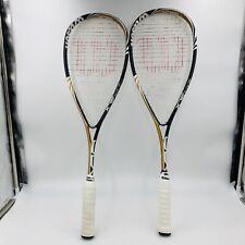 Set Of 2 Wilson BLX Blade Squash Racquet