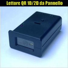 Lettore QR Barcode 1D/2D da Pannello - Panel Mount