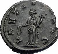 CLAUDIUS II GOTHICUS Authentic Ancient 268AD Genuine Original Roman Coin i80414