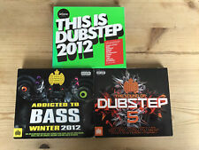 3x Various Artists Ministry Of Sound Dubstep 5 Addicted To Bass CD CDs Job Lot