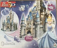 Puzz 3D Cinderella's Castle Disney Princess 400 Piece 3D Puzzle Intermediate