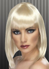 Ladies 20s Blonde Blunt Bobbed Wig