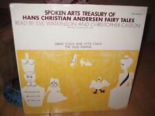 HANS CHRISTIAN ANDERSON FAIRY TALES SPOKEN ARTS SEALED LP VINYL RECORD ALBUM