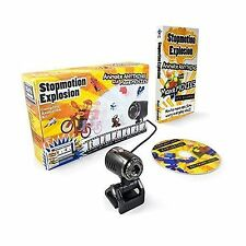 Stopmotion Explosion: Complete Stop Motion Animation Kit with H... Free Shipping