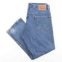 Vintage LEVI'S 550 Relaxed Straight Fit Men's Blue Jeans W36 L30