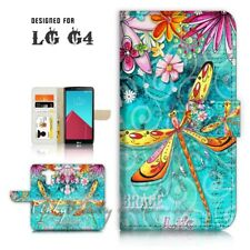 ( for LG G4 ) Wallet Case Cover P21095 Dragonfly